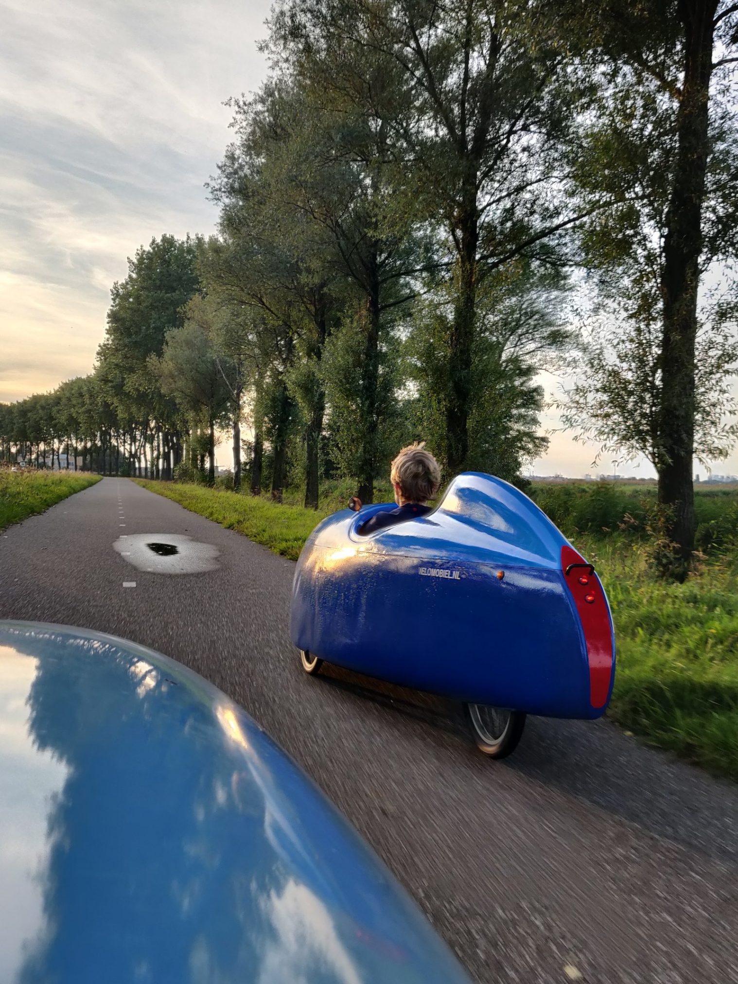 Op weg naar camping Blauhek