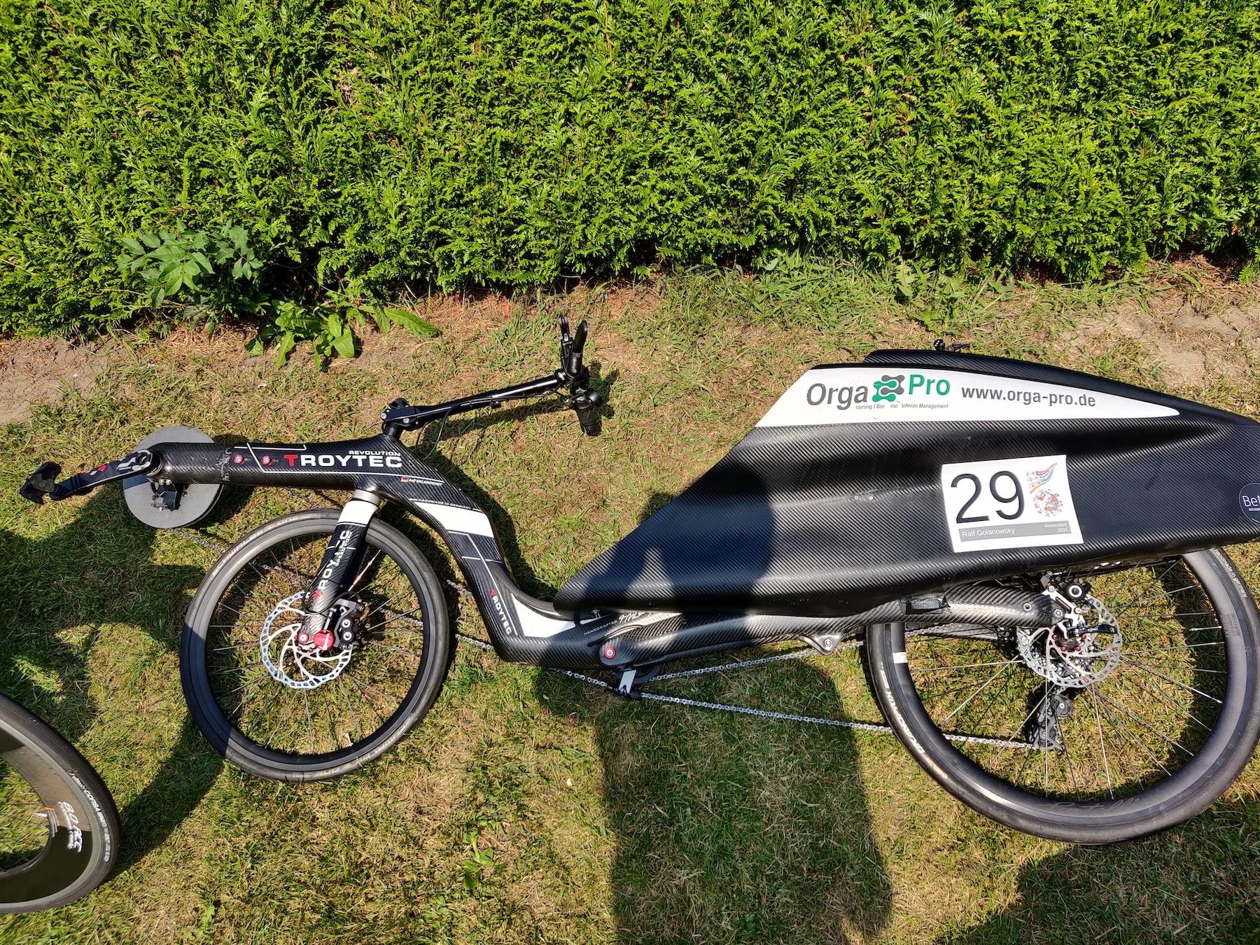 Een van de vele mooie Troytec fietsen.