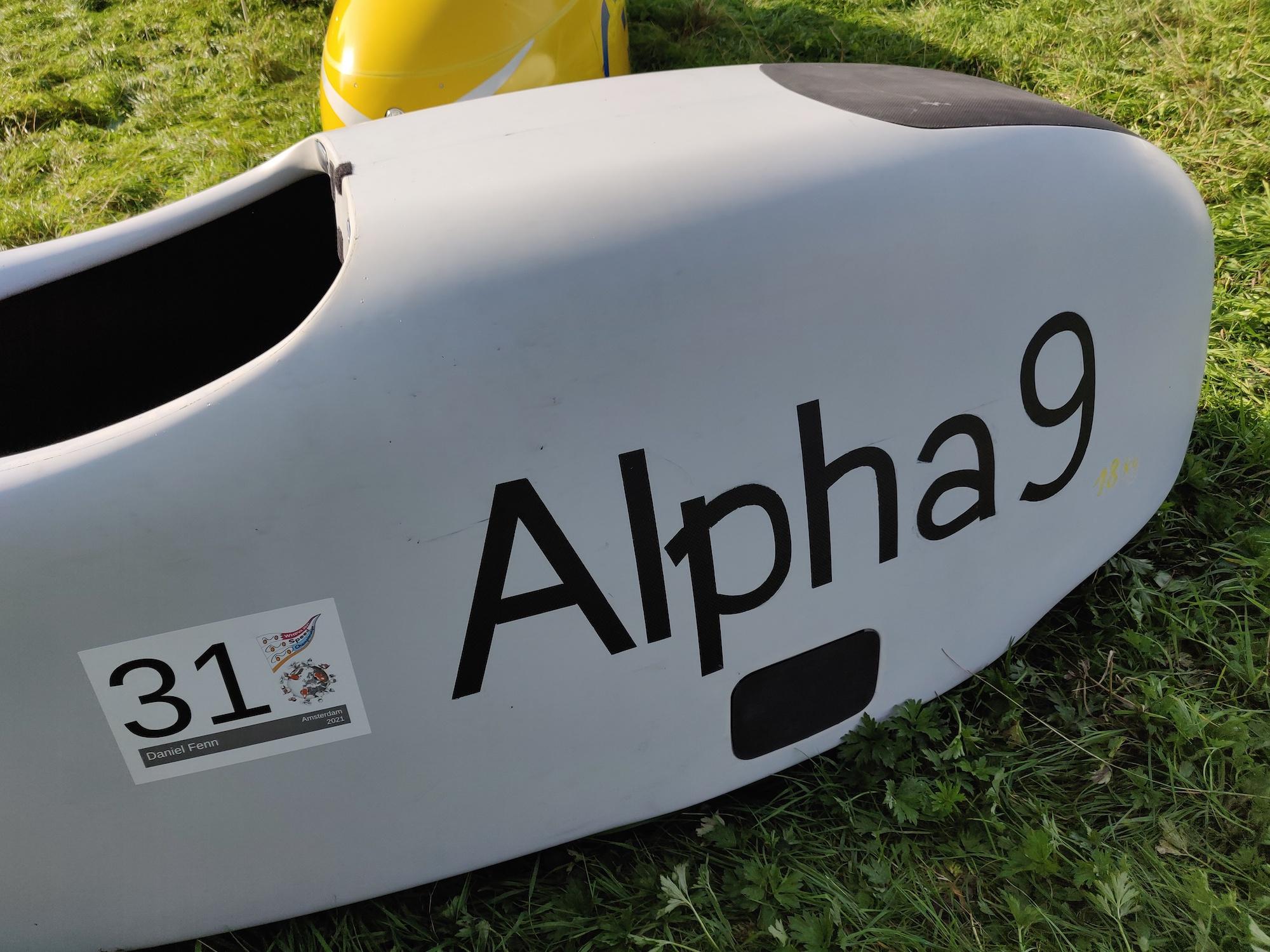 Alpha 9, maar ik denk dat jullie het al doorhadden.